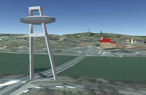 Bratislava 3D v Google Earth
