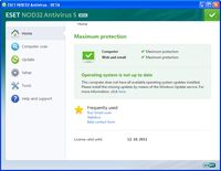 ESET NOD32 Antivirus 5 Beta